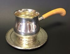 Antique TOWLE Sterling 172/140 Silver Flutes Silver Sauce Boat & Underplate