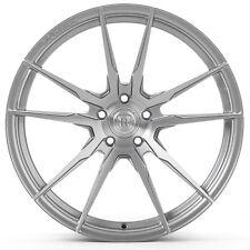 "20"" Rohana RF2 Brushed Titanium Concave Wheels for Maserati"