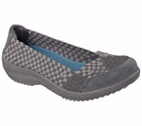 New Skechers Womens Relaxed Fit Savor Just Weave It Casual Shoes-49025 101A kl