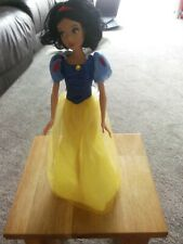 """DISNEY Snow white Princess doll Approx 12"""" High. OOAK PROJECT"""