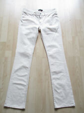 "ladies FIRETRAP LIGHT CREAM DENIM JEANS SIZE 28"" WAIST - 32"" LEG"