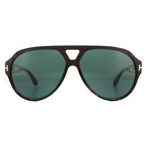 Tom Ford Sunglasses Paul FT0778 52N Dark Havana Green