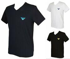 T-shirt camisa cuello V hombre manga breve EMPORIO ARMANI artículo 111556 0P525