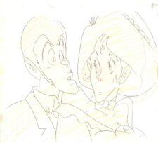 Anime Genga not Cel Lupin #87