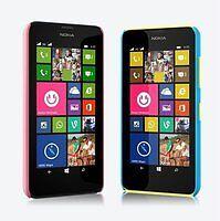 Custodia BACK Cover Case Rigida Hard Plastica Colorata per Nokia Lumia 630