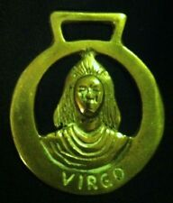 Vintage VIRGO Horse Harness Brass AUG 23 - SEPT 22 ZODIAC SIGN!! WOW YOUR WALLS!