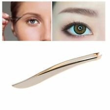 New Beauty Slant Tip Makeup Tools Stainless Steel Hair Removal Eyebrow Tweezer