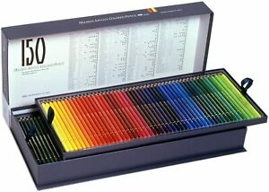 Holbein Artists Colored Pencil 150 Colors sets Paper Box Holbein Art Materials