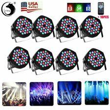 10-20PCS 108W PAR DJ Stage Effect Lighting 36 LED RGB DMX Club Party Disco Light