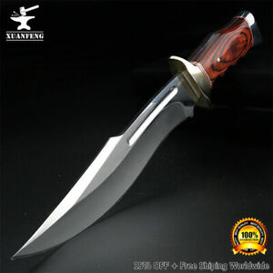 Camping Knife Hunting nifes Survival Knives 9CR18 Titanium Blade Tactical Tool