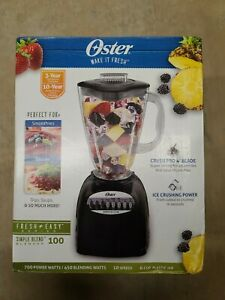 Oster Blender 10 Speed 700W with 6 Cup Jar 006706 Black