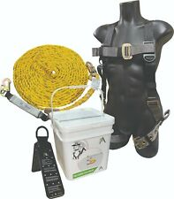 Ascent Arpd50 Fall Protection Roofers Kit Universal Harness50 Ropeanchor