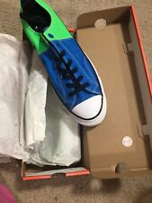Men's Converse All-Star Chuck Taylor All-Star 70's Oxford Sneaker Blue/Green 8.5