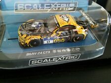 "Scalectrix ""Dunlop"" Bmw Z 4 Gt 3 W/Lights In 1 32 Scale"