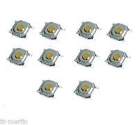 S03- 10Stk SMD Mini-Taster  Kurzhubtaster Mikrotaster  Eingabetaster 5x5x1,7 mm