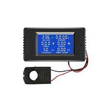 Ac Current Voltage Amperage Power Energy Panel Meter Lcd Digital Display Amme