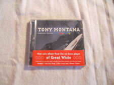 """Tony Montana """"Tombstone Shuffle"""" 2001 cd Axe Killer  Great White  New Sealed"""