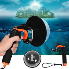 "6"" Underwater Diving Action Camera Lens Dome Port Cover Housing for GoPro Hero 5"