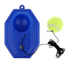Tennis Trainer Single Practice Tennis Training Aid Tool for Beginner - Blue