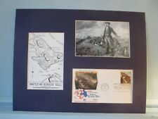 Colonel William Prescott at The Battle of Bunker Hill & First day Cover
