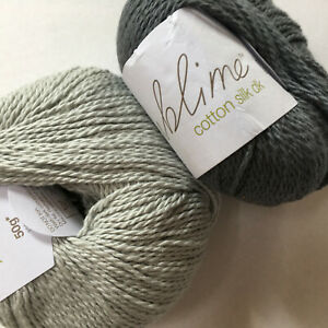 Knitting Yarn ~ Sublime Cotton Silk DK ~ 50g balls ~ a luxury DK for summer