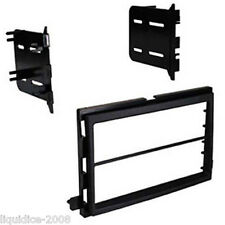 CT24FD23 FORD MUSTANG 2005 to 2009 BLACK DOUBLE DIN FASCIA FRAME & BRACKETS
