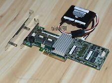 LSI MR SAS 9270CV-8i 6Gbps SAS/SATA RAID L3-25422-43BA With Battery 49571-03