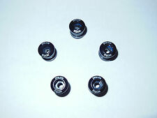 New* Praxis Works Alloy Bicycle Chainring Bolt 5 piece Black for Double CRB-0001