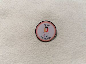 Germany Paralympic Committee for Olympic Games Tokyo 2020 pin