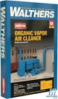 NEW Walthers Organic Vapor Air Cleaner (RTO) Kit HO Scale Train FREE US SHIP