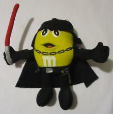 M&M's Darth Vader Star Wars Plush Figure Yellow M&M Chocolate Mpire Hasbro 2005