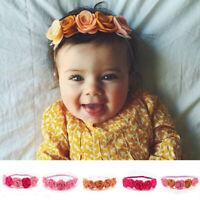 GI- Kids Baby Girls Rose Flower Headband Hair Band Headwear Photography Props Ch
