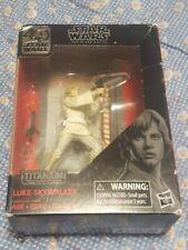 "Star Wars Black Series LUKE SKYWALKER 40th Anniversary Titanium 3.75"" Figure"