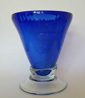 Glas Vase Trichtervase groß