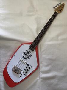 VOX APACHE-2B Phantom Type Bass Built-in Speaker Salmon Red