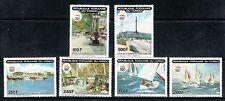 CONGO 1990 885/88 +A 403704 B-92 COLON, VELA , RAMBLAS, CANALETAS, BARCELONA 92