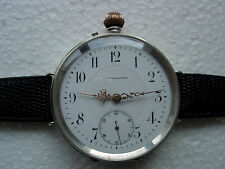 Union Horologere high grade silver wrist watch just full serviced perfect work