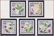 VIETNAM 1374/1378** plante médicinale, 1993 Vietnam 2429-2433 medicinal plant NH