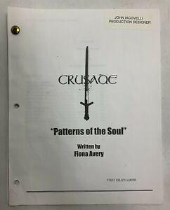 Babylon 5 Crusade Patterns Of The Soul Original First Draft Script Fiona Avery