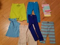 Lot of 7 girls NWT and EUC tank top and buttoms size 6, 6-7