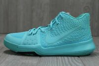 55 Nike Kyrie 3 GS Aqua Youth Basketball Shoes Size 5.5Y 859466 401