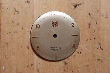 RARE Hamilton Automatic Watch Dial for Parts Chevron
