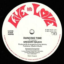 "GREGORY ISAACS-dancing time    live & love 12""     (hear)    reggae digi"