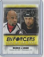 2011-12 DONALD BRASHEAR & GEORGES LARAQUE ITG ENFORCERS #29