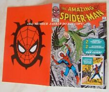 Amazing Spider-Man #2 1st VULTURE German Euro Variant Key MCU Dikto Red Cover