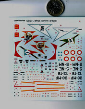 DECALCOMANIE pour AVION mirage f1 c 1/72 n1