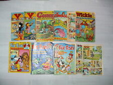 Konvolut alte Comic Hefte (Yps, Conny, Wickie, Pinocchio, Fix & Foxi)