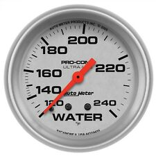 "AutoMeter 4432 Ultra-Lite Mechanical Water Temp. Gauge 2-5/8"" 120-240 Degrees"
