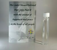 Holly water blessed by pope John Paul II, blessed holy water - 25ml