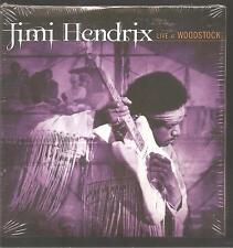 """Jimi Hendrix """"Live at Woodstock"""" PROMO CD SAMPLER CARDSLEEVE"""